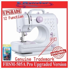Original Sewing Machine FSHM-505A Upgraded 12 Functions Free 40Pcs Kit