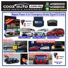 Honda City 2012-2014 Nippon Power 4 IN 1 OBD EBS D Lock Emergency Brake Signal