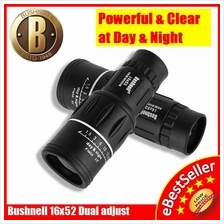 Bushnell 16x52 High dual adjust Super Powered View Monocular Telescope