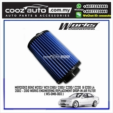 Mercedes Benz W203 W211 E200 2002 - 2010 Works Engineering Air Filter