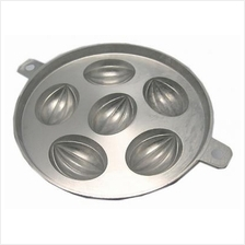 CNY Traditional 6 'Rugby' madeleine muffin tin kuih bahulu mould