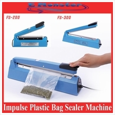 Impulse Plastic Sealer Film Heat Press Plastic Poly Bag Seal Machine