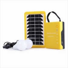 OUTDOOR CAMPING SOLAR POWERED PORTABLE TENT LIGHT WITH HOME LIGHTING SYSTEM