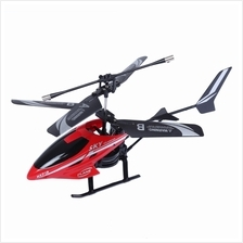 HX713 HIGH PERFORMANCE 2CH I/R REMOTE CONTROL ALLOY HELICOPTER - RED