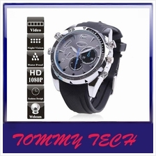 16GB Waterproof 1080P Sport Watch with Night Vision Spy Camera