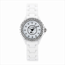 SINOBI 9688L FEMALE QUARTZ WATCH (SILVER)