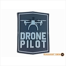 Velcro Patch - Drone Pilot (Hook only)