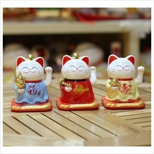 FORTUNE LUCKY CAT SOLAR POWERED (福禄寿) HAND WAVING