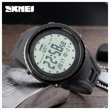 SKMEI 1246 Men Sports Watches 50m Waterproof Digital LED