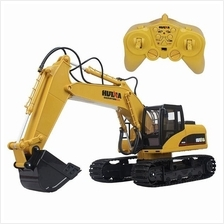 1/12 RC Remote Control Alloy Metal Excavator 15Ch 2.4G Truck Car Toy