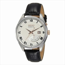 SEIKO Kinetic Leather Strap SRN073 SRN073P1 Leather Watch