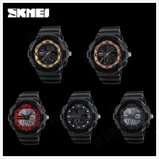 SKMEI 1189 Digital Dual Time Watch Men Multifunction Waterproof LED