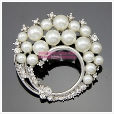 [DindabyV] Madge Design Pearl Brooch AD018W