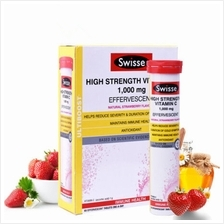 Swisse High Strength Vitamin C 1000mg Effervescent 60 Tablets