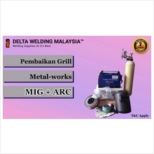 DELTA 180A SMAW + MIG welding machine Fabrication Civil Engineering