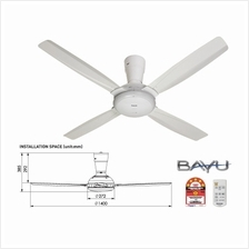 Panasonic Ceiling Fan FM14C5WT 4B Bayu 4 [White]