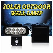 LED Solar Wall Lamp Rotable Waterproof Outdoor Security Spot Lighting