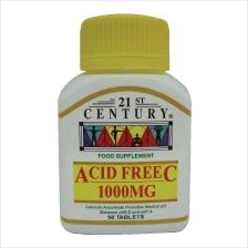 21st Century Acid Free Vitamin C 1000mg 50 tablets