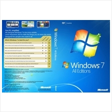 (Unlimited Reinstall) Windows 7 Home/Pro/Ultimate 2017(Retail Version)