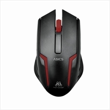 Alcatroz Asic 5 USB Mouse (Black Red)