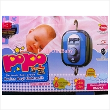 PoPo Electronic Automatic Baby Cradle with Light/Timer/Music SALES!!!