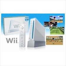 Nintendo Wii+ Remote Nunchuk +accessory+hdd with games