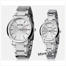 Sale!!! EYKI 8598 Couple Waterproof Stainless Steel Watch