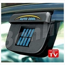 Solar Power Car Cooler Fan Auto Cool Ventilation System for Car