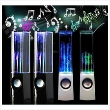 LED Dancing Water USB Speaker Colorful support PC/laptop/Smartphone