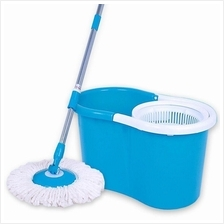 Spin Mop Magic 360 Rotating With 2 Mop Heads Household