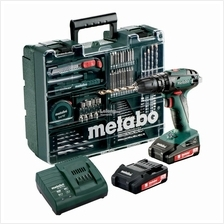 [New] Metabo  SB18 Workshop Set Cordless Impact Drill