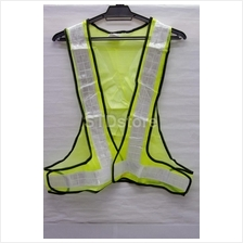 Mesh Safety Vest With Reflective Tape